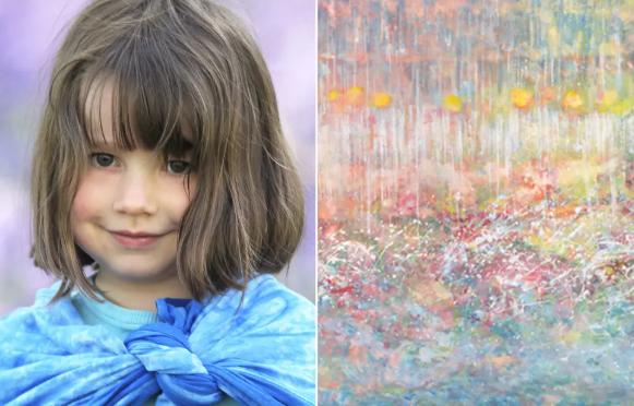 κοριτσάκι-αυτισμό-έργα-τέχνης