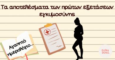 Ημερολογιο εγκυμοσυνης
