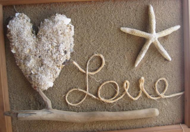 διακοσμητικό με άμμο